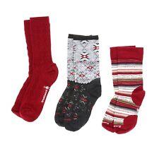 Smartwool Women's Trio 2 Calf Crew Socks in Multi 9607 Size M