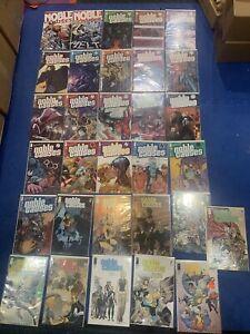 Noble Causes Image Comic Lot Of 31 High Grade Rare Comics