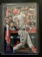 Mike Trout 2020 Topps Update Active Leaders Walmart Royal Blue Parallel #U-292