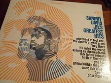 Sammy Davis Jr's Vinyl Greatest Hits Vintage Record Album