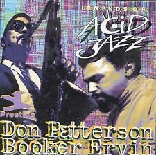 Legends of Acid Jazz, Don Patterson & Booker Ervin (CD, Dec-1996, Prestige)