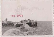Foto Sturmgeschütz III mit großem Balkenkreuz