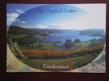 POSTCARD CUMBRIA WINDERMER - THE ENGLISH LAKES