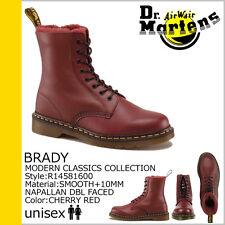 Dr. Martens Men Brady 1460 Shearling Winter Boot Red US 10 EU 43 UK 9 Ret. $285