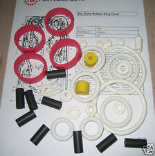 1987 Williams Big Guns Pinball Rubber Ring Kit