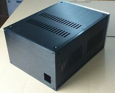 Full Aluminum Enclosure power supply AMP case power amplifier box chassis DIY