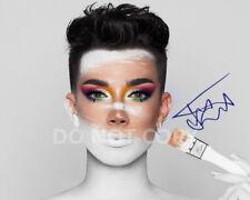 "James Charles model make-up artist reprint SIGNED 11x14"" Poster #1 Autographed"