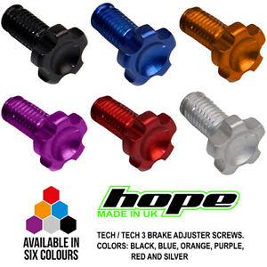 Hope Tech / Tech 3 X2 E4 V4 Lever Reach Adjuster Screw - All Colors - Brand New