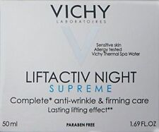 VichyLiftActiv Night SupremeAnti-Wrinkle and Firming Night Cream EXP-01/21+NEW