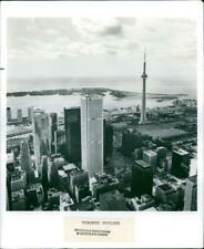 Skyscrapers in Toronto - Vintage photograph 3564976