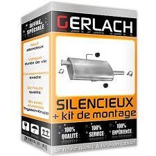 Pour Renault Espace III 2.0i 1996-2000 silencieux intermediaire 2323