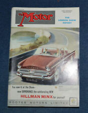 "October Motor Cars, Pre-1960 Magazines"""