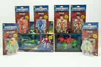 He-Man Masters of The Universe Origins 2020 Retro Complete Set of 8 Battle Cat