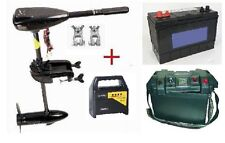 MOTEUR ELECTRIQUE PACK N°4 58LBS+batterie 100ah+box+CHARGEUR  NEUF
