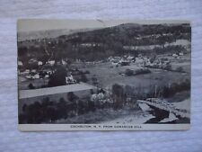 Cochecton NY Sullivan County New York from Damascus Hill 1946 Postcard