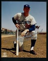 Frank Howard Signed Autographed PSA/DNA 8 x 10 photo with 1960 ROY inscr Dodgers