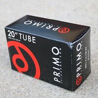 "20/"" BIKE TUBE PRIMO BMX 20/"" x 2.20-2.50 BICYCLE TUBE 20/"" BMX TUBE NEW"