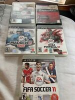 ps3 sports games lot