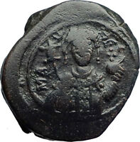 MANUEL I, Comnenus 1143AD Ancient Medieval Byzantine Coin St. George  i74213
