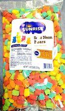 Sour Neon Gummy Bears 5 Lb Bag