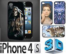 Handy-Schalen aus Kunststoff mit Motiv für das iPhone 4s