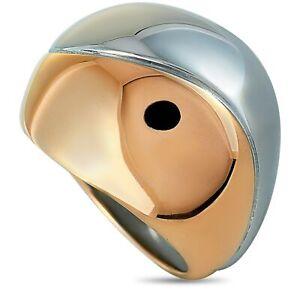 """Calvin Klein - """"Empathic"""" Pink PVD Stainless Steel Ring KJ1VPR2001-06"""