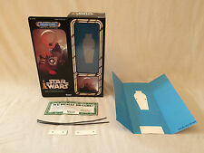 "custom vintage Star wars 12"" nalan cheel cantina band member box + inserts"