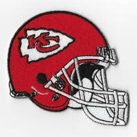 Kansas City Chiefs Helmet Iron on Patches Embroidered Patch Applique Badge FN