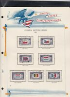 united states commemoratives overrun nations series 1943 stamps page ref 18252