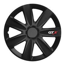 Universal les Enjoliveurs Radzierblenden GTX Noir 15 in pour Citroen + Peugeot