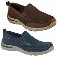 Mens Skechers Superior-Milford Casual Slip On Loafers Shoes Sizes 6 to 12