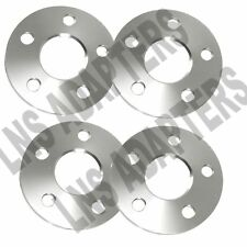 4x 5mm Hubcentric Wheel Spacers 5x112 for Audi S5 RS5 A7 A5 A4 A6 A7 RS7 S4 Q5