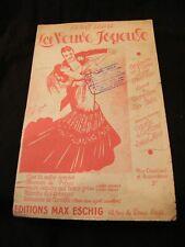 Partition La veuve joyeuse Lehar Heure exquise qui nous grise Music Sheet