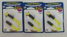 (3) Blakemore Road Runner 1/16 oz Mr. Crappie Fishing Lures Lot of 3 Packs