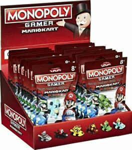 MONOPOLY GAMER SUPER MARIO KART - CHOICE OF 5 DIFFERENT COLOUR CARS - NEW PACKED