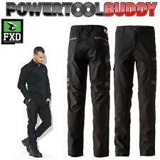 FXD Trousers WP-3 Duratech Work cargo multi pocket Workwear 30-38 Black