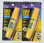 2 Maybelline The Colossal WATERPROOF Mascara #241 CLASSIC BLACK