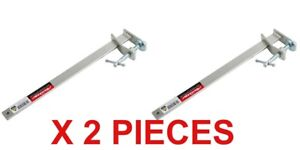 """PROFILE BRICK LAYING CLAMPS 13"""" / 330MM X 2 PC SLIDING BRICK WALL F CLAMP TONGS"""