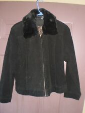 Genuine Sonoma Jean Company Petite Leather Jacket Womens PL/PG
