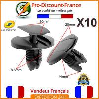 10 x Clips Agrafes Pour PEUGEOT 206 207 307 308 407 607 1007 Clio Partner Expert