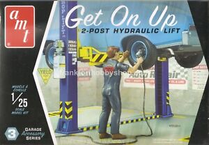 AMT #PP017 F/S GET ON UP 2 POST HYDRAULIC LIFT Garage Accessory Model Kit