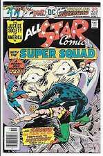 ALL STAR COMICS #62 8.0 VF GOLDEN AGE SUPERMAN