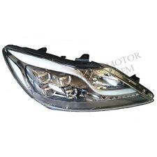 2009-2014 HYUNDAI GENESIS PRADA NEW OEM LED CHROME BEZEL HEAD LAMP HEAD LIGHT RH
