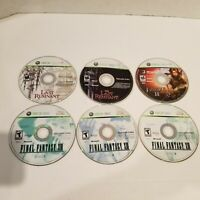Lot of 3 Xbox 360 Games - Last Remnant, Fable II, Final Fantasy XIII DISC ONLY
