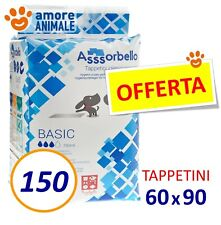 150 Tappetini Assorbenti Cane BASIC 60x90 - Traverse per cani cuccioli Fuss Dog