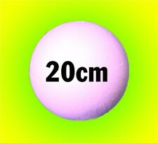 20cm 200mm Polystyrene Balls LARGE SOLID foam - props craft candy sweet trees