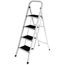 Ladders Heavy Duty Portable Folding 4 Step Scaffolding Platforms Home DIY Repair