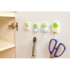 Cartoon Bathroom Kitchen Organizer Hanger Hook Wall Door Towel Holder Rack TO