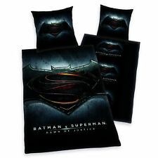 Bettwäsche Herding Batman vs. Superman Fotodruck Zipper 135 x 200 cm NEU WOW