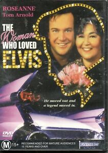 The Woman Who Loved Elvis - NEW SEALED - DVD - Roseanne, Tom Arnold